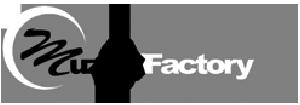 Logo van Muziekfactory